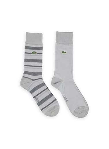 Lacoste 2'li Çorap Gri